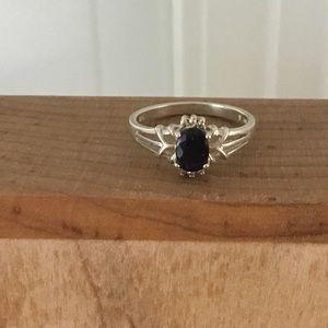 Avon Black Sapphire Ring